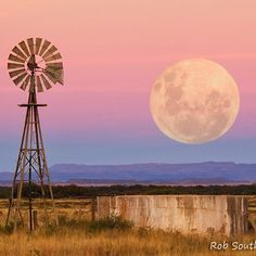 Classic Karoo farm scene by Rob Southey - South Africa Farm Windmill, Windmill Decor, Old Windmills, Fotografia Macro, Farm Stay, Country Scenes, All Nature, Le Far West, Water Tower