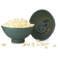 Look what I found at UncommonGoods: the popcorn bowl with kernel sifter... for $75 #uncommongoods