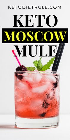 Moscow Mules Sugar-Free Keto Cocktail Drink The best keto diet Moscow Mule recipe for the summer. Low Carb Drinks, Low Calorie Recipes, Ketogenic Recipes, Diet Recipes, Ketogenic Diet, Best Keto Diet, Best Diet Plan, Paleo Diet, Low Fat Diets