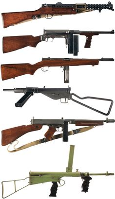 KNIL smg's