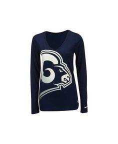 bf26bb4fc Nike Women s Long-Sleeve Los Angeles Rams Logo Wrap T-Shirt Women - Sports  Fan Shop By Lids - Macy s. Nfl RamsSt Louis ...