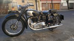 Royal Enfield J2 Año 1948 Unica