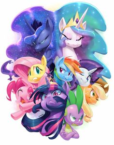 MLP: Half the ponies, twice the excitement! Season 5 in Spring ...
