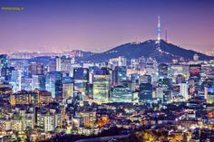 نمای شهر سئول, کره جنوبی