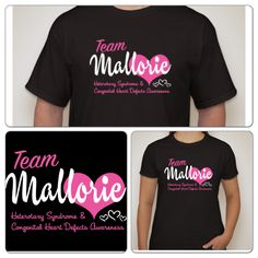 http://campaign.customink.com/teammallorie  - T-Shirt fundraiser for my daughter Mallorie who is fighting Heterotaxy Syndrome with major Congenital Heart Defects!!! H