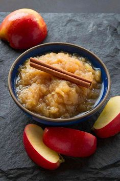 Pressure cooker applesauce is so simple to make. It can be ready in about half an hour, and served with sweet or savory dishes.