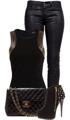 ¡Outfit para la noche de viernes! ¿Les gusta?