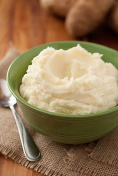 Mom's Mashed Potatoes - my Mom made mashed potatoes once a week growing up (our grandparents were potato farmers). Trust me she makes the best mashed potatoes on the planet and here's the recipe...