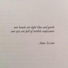 anne sexton, quote, and words image