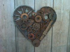 Welded heart