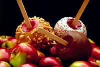 Michigan Apple Recipes - Candy Coated Apples