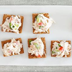 This appetizer gets it start from purchased crab salad, making it a snap to prepare.