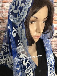 We sale high quality Spanish Lace Mantillas used for Prayer. The art of prayer veiling is here to stay.  Vendemos alta calidad velos de iglesia, Chalinas Españolas, Importadas de Espana.