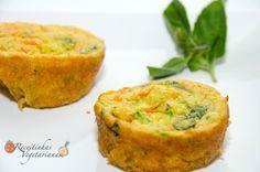 Receita de Muffin de cenoura e abobrinha   Pimenta e Sal, receitas para o…