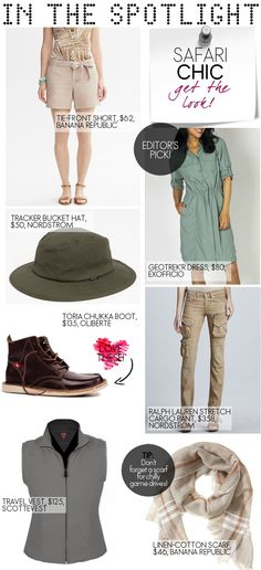 7 things to pack for a safari