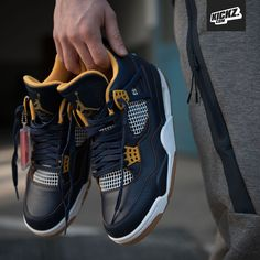 "Air Jordan 4 Retro ""Dunk from Above"""