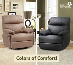 New #Recliners! #New #Love!  Something to look forward to on your way back #home!   Get 1 year #warranty!