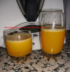 Zumo de manzana, zanahoria y naranja con thermomix Cocktails, Drinks, Canapes, Nespresso, Smoothies, Kitchen Appliances, Cooking, Recipes, Food