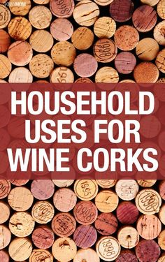Check out how many ways wine corks can be used around the house.