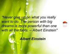Oh how I love this quote!!! Albert Einstein