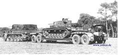 Sd.Kfz 9 FAMO 1:10 Baubericht (früher 1:16) -- RC-Panzer