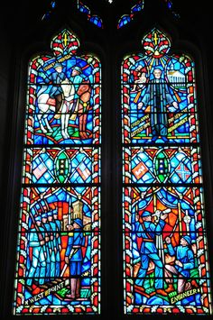 Washington National Cathedral - General Robert E. Lee Stained Glass window