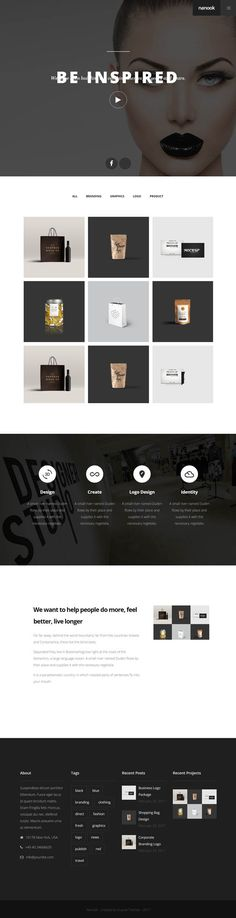 Nanook : Creative Modern Multipurpose WordPress Theme