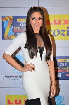 Download Sonakshi Sinha at the Zee Cine Awards 2014 Wallpaper HD FREE