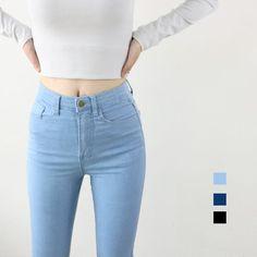 Hohe Taille Elastische Jeans Frauen Heißer Verkauf American Apparel Dünne Bleistift Denim Hosen Mode Pantalones Vaqueros Mujer