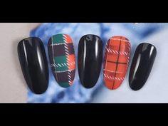 2017 New Nail Art, the Best Top Nail Designs&Ideas! Holiday Nails, Christmas Nails, Hair And Nails, My Nails, Plaid Nails, Christmas Nail Designs, New Nail Art, Top Nail, Fabric Textures