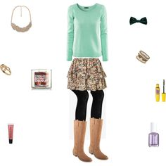 """""""Summer Clothes to Fall: Skirt"""" by mistyfashion2000 on Polyvore"""