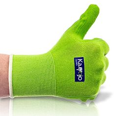 Bamboo Gardening   Work Gloves (2 Pairs) Ultra-Premium Quality for Men   Women. Breathable to Keep Hands Dry   Textured Grip to Reduce Slipping by Kamojo (Small XS) Visit the image link more details.