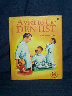 Vintage Wonder Books A Visit to The Dentist 1959 Hardcover 732 0448007320 | eBay