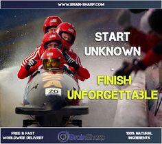 Start Unknown, Finish Unforgettable | BrainSharp Natural Supplements