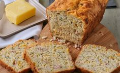 Cheesy Mielie and Bacon Bread recipe