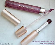 Jane iredale Kir Royale PureGloss and Katerina PureMoist lipstick