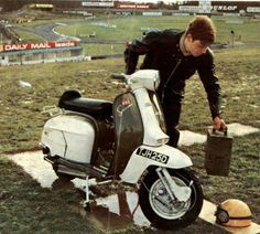2014 is the anniversary of the iconic AF S-Type Lambretta scooter. Developed by Watford scooter dealer Arthur Francis back in 1964 to sell more scooters, the AF S-Type has become probably the … Retro Scooter, Lambretta Scooter, Moto Bike, Motorcycle, Used Bikes, Mod Girl, Engine Rebuild, Motor Scooters, 50th Anniversary