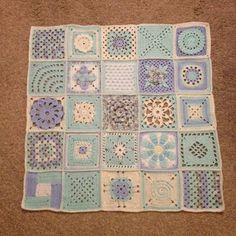 365 Granny Squares Project: October 2013