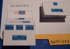 FRANCAIS - Vocabulaire - cahier interactif préfixes/suffixes. Fantadys.