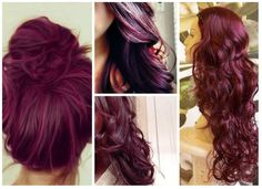 4 Popular Burgundy Hairstyles This Season