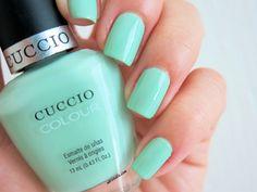 Colores: Cuccio Colour -Mint Condition- #nails #nailart #esmaltes #nailpolish #uñas #mint #mintcolor #mintnails