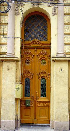 Timisoara, Romania~ Old Door 11 photo by marculescubalasadomnita-romania, via Flickr