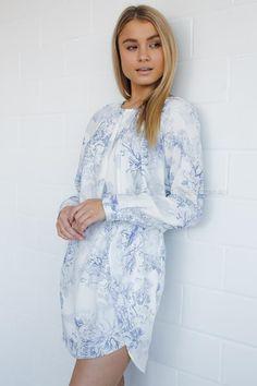 Bargain - $39.95 (was $69.95) - GABANNA FLORAL DRESS @ Esther Boutique
