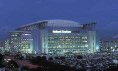 Reliant Stadium A.K.A TEXANS STADIUM!