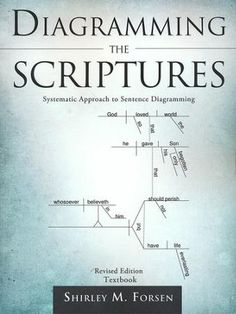 Diagramming the Scriptures by [Forsen, Shirley M. Sentence Writing, Writing A Book, Teaching Writing, Teaching Kids, Complex Sentences, Teaching English Grammar, Subject And Verb, Christian School, Christian Living