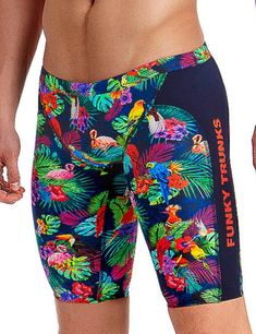 2f271f5330 FT37M01979 Funky Trunks Mens Tropic Team Training Jammers - FT37M01979  Tropic Team