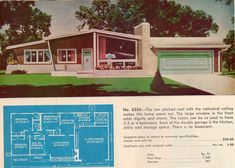 baby nursery, S And Suburban Homes Architecture Atomic Age House Plans E Ff D B Ada Mid Century Design Home: atomic house plans Mid Century Modern Door, Mid Century House, Mid Century Design, Ranch House Plans, Dream House Plans, Dream Houses, Tiny Houses, Mcm House, Mid Century Ranch