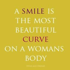 "Gives a new meaning to the phrase ""curvy girl."" Let's have a SmileFest, Girlfriends!"