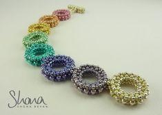 Daisy Links Rainbow Bracelet (2014) - Shona Bevan