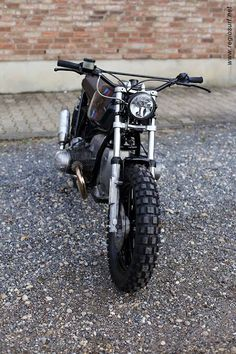 BMW Street Tracker by Rock n roll cycles #motorcycles #streettracker #motos | caferacerpasion.com